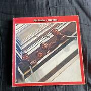 Extremely Rare The Beatles Lp Record Blue Red Edition Box With Posters 191/mnn