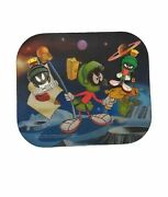 Vintage Marvin The Martian Mousepad And 2 Magnet Lot 1993-1995