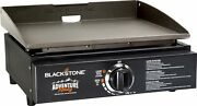 17 Tabletop Burner Portable Outdoor Griddle Grill Stainless Steel Camping New