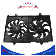 For 2.5l Nissan Rogue Dual Radiator And Condenser Fan Assembly 1670065 21481jm00b