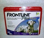 Frontline Plus Flea And Tick Treatment For Large Dogs 45-88 Lbs Brandnew Sealed