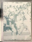Steve Young 1993 Pro Line Profiles Printing Plate Sf San Francisco 49ers 1/1