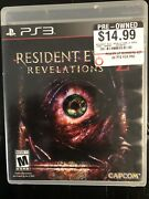 Playstation 3 Ps3 Resident Evil Revelations 2 In Case And Tested