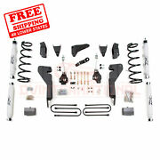 Zone 6 Front And Rear Suspension Lift Kit Fits Dodge Ram 2500 4wd 2008