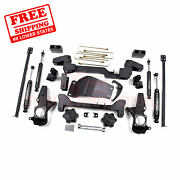 Zone 6 F And R Suspension Lift Kit For Chevy 2500hd Pickup 4wd Gas/diesel 01-10