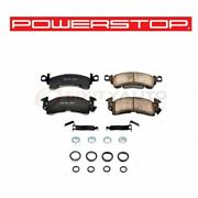 Powerstop Front Disc Brake Pad And Hardware Kit For 1989-1991 Chevrolet R1500 Cn