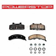 Powerstop Front Disc Brake Pad And Hardware Kit For 1990-1991 Pontiac Trans Zd