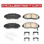 Powerstop Front Disc Brake Pad And Hardware Kit For 2011-2012 Honda Accord Fy