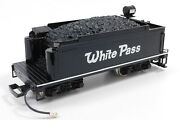 Used Bachmann Big Haulers G Scale White Pass 10 Tender No Box