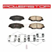 Powerstop Front Disc Brake Pad And Hardware Kit For 2003-2017 Honda Accord Wb