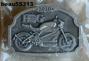 Harley Davidson Owners Group Hog Chapter Officers 2020 Pewter Electric Pin