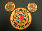 Philmont Scout Ranch 60th Anniversary Back And Pocket Patches     Eb25