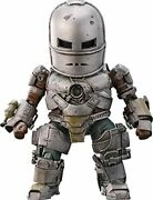 Egg Attack Action Iron Man Mark 1 Non-scale Pv Beast Kingdom Action Figure Anime