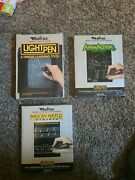 Vectrex Lightpen Artmaster Animaction And Melodie Master Type - Rare Complet Set