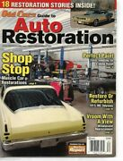 Old Cars Guide To Auto Restoration 2011 Spring - Muscle Cars Paint Windshield