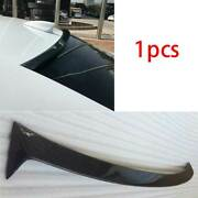 Fit For Cadillac Ats 2013-2020 Dry Carbon Fiber Roof Boot Spoiler Wing Flap 1pcs