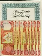 10 X 25000 New/uncirculated Iraqi Dinar = 250000 Iraq Currency 1day Shipping