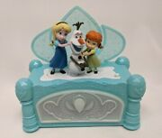 Elsa Anna And Olaf Disney Frozen Music And Jewelry Box - Animated - Tested-works