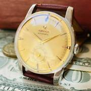 Strongest Partner Love At First Sight Omega Menand039s Watches Antique Vintage Gold