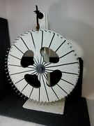 Antique Carnival Spinning Game Of Chance Wheel American Folk Art Priced To Sell