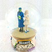 Wicked The Musical What Is This Feeling Glitter Globe / Music Box 2003 Mint