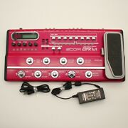 Zoom B9.1ut Bass Effects Console With Ac Adapter Effects Processor 000339
