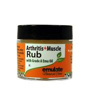Emu Oil Arthritis And Muscle Rub With Msm Emulate Natural Care 2 Oz Cream
