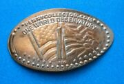 One World Observatory Elongated Penny New York Usa Cent Us Flag Souvenir Coin