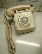Vintage Rotary Desk Telephone Volume Dial On Earpiece - Not Tested - Set Decor