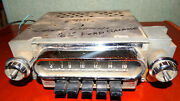 1962 Ford Galaxie 2tmf Am Push Button Radio Lights And Humms May Fit Other Years