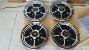 1969-70 Dodge Dart/charger/coronet W-18 Simulated Mag Wheel Hubcaps 4