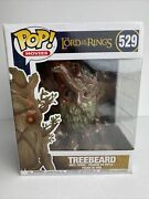"""Funko Pop Movies The Lord Of The Rings 529 Treebeard 6"""" Vaulted W/protector"""