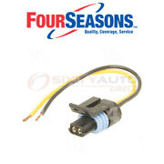 Four Seasons Cooling Fan Switch Connector For 1992 Gmc K3500 5.7l 7.4l V8 - Vj