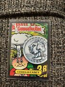 2020 Garbage Pail Kids Chrome Base Black An6a Cashed-in Casey 38/99 Rare Ssp