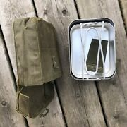 Canadian Forces 1964 Pattern Pouch And Mess Kit Set