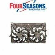 Four Seasons Dual Radiator And Condenser Fan Assembly For 2007-2010 Chevrolet Sh