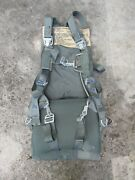 Usaf Air Force Seat Style Ejection Seat Parachute W Harness Pad Etc. Reliance