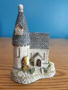 Vintage David Winter Cottages 1984 The Chapel Box And Coa