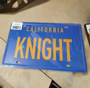 Relife Knight Rider Stamped Replica Prop License Plate Bar Pub Club Wall Decor