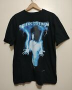 The Doors Vintage T Shirt 1985 Jim Morrison Riders On The Storm Band Tee Shirt L