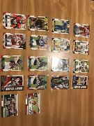 17 Rookie Cards Including Mac Jones And Elijah Moore And 1 Normal Chris Boswell.