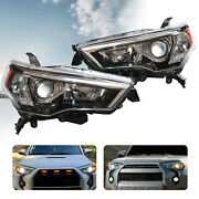 For 2014-2020 Toyota 4runner Clear Projector Headlight Headlamp Left And Right