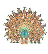 Peacock Trinket Box Limited Edition By Keren Kopal With Austrian Crystals