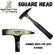 Tinners Hammer 20oz Square Head For Sheet Metal And Duct Fabrication Imported