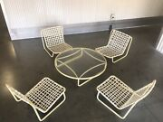 Vintage Brown Jordan Low Sand Chair Coffee Table Only Chairs Sold Seperate