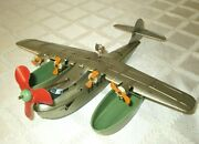 1930's J.chein-paa-china Clipper Wind-up Toy Plane-11-pan American Airways