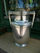 Rare Vase Urn With Handles Sterling Silver Silber 12 3/16in