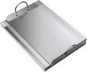Universal Stainless Steel Rectangular Griddle For Gas Bbq Grills 23 X 16