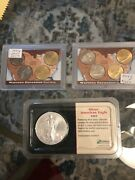 Coin Lot Silver American Eagle/western Expansion Nickel Series And Othersandnbsp