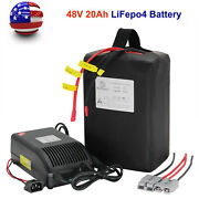 48v 20ah Lifepo4 Electric Bike Scooter Bicycle Battery Pack For 750w 1000w Motor